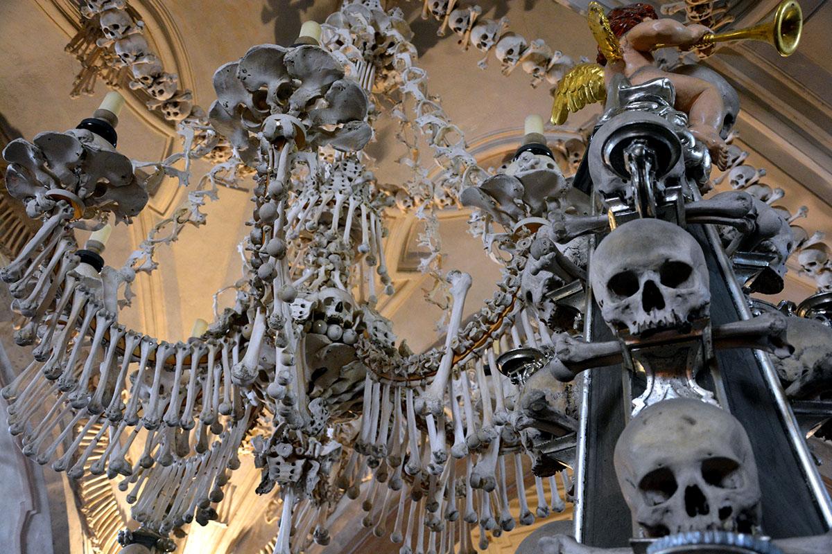 Die Knochenkirche von Kutná Hora