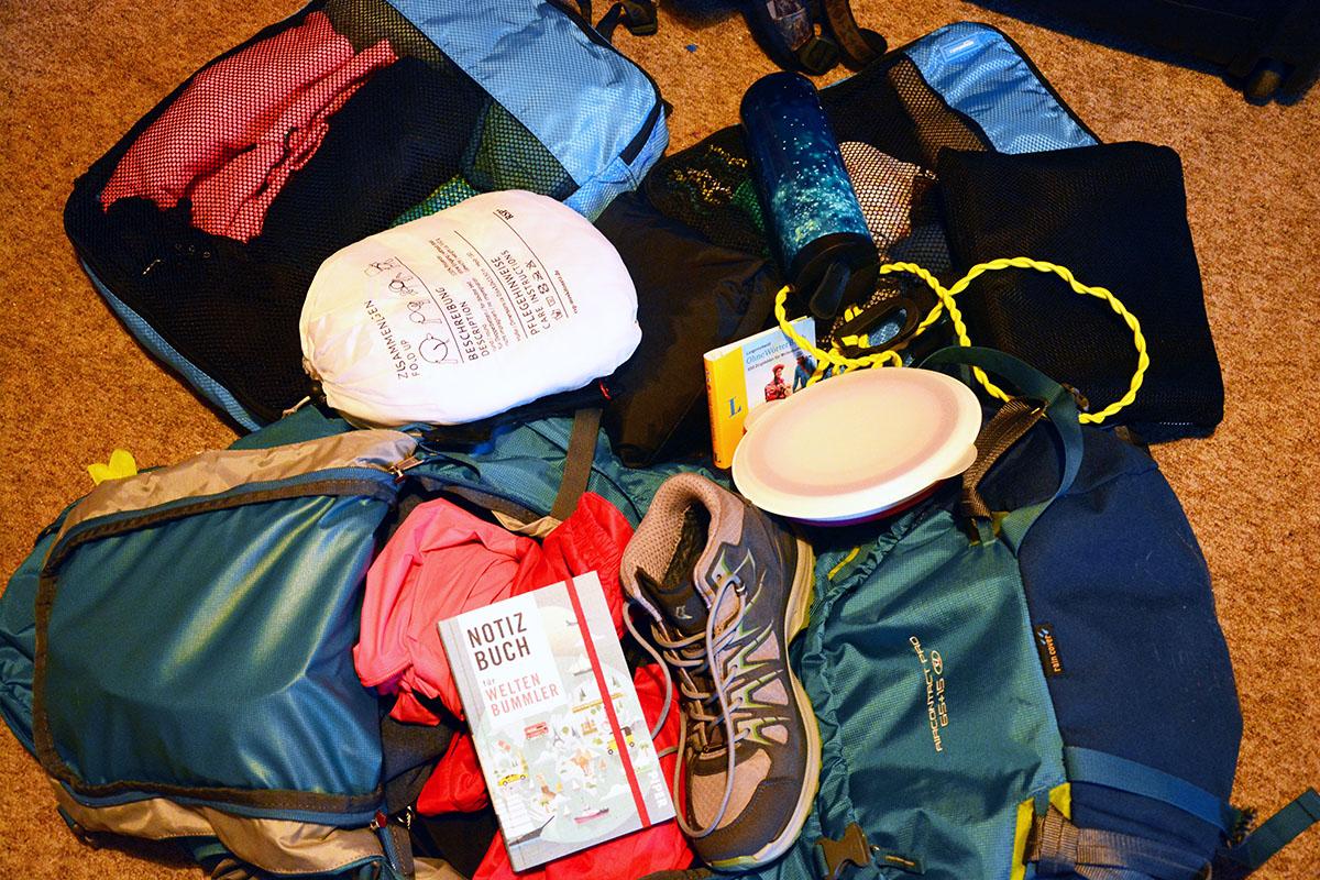 Von Notfallpfeifen und Reisewäscheleinen