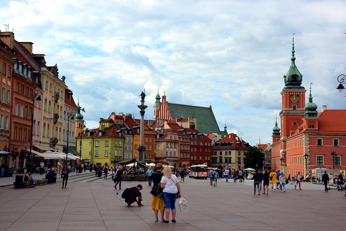 Im Herzen von Warschau