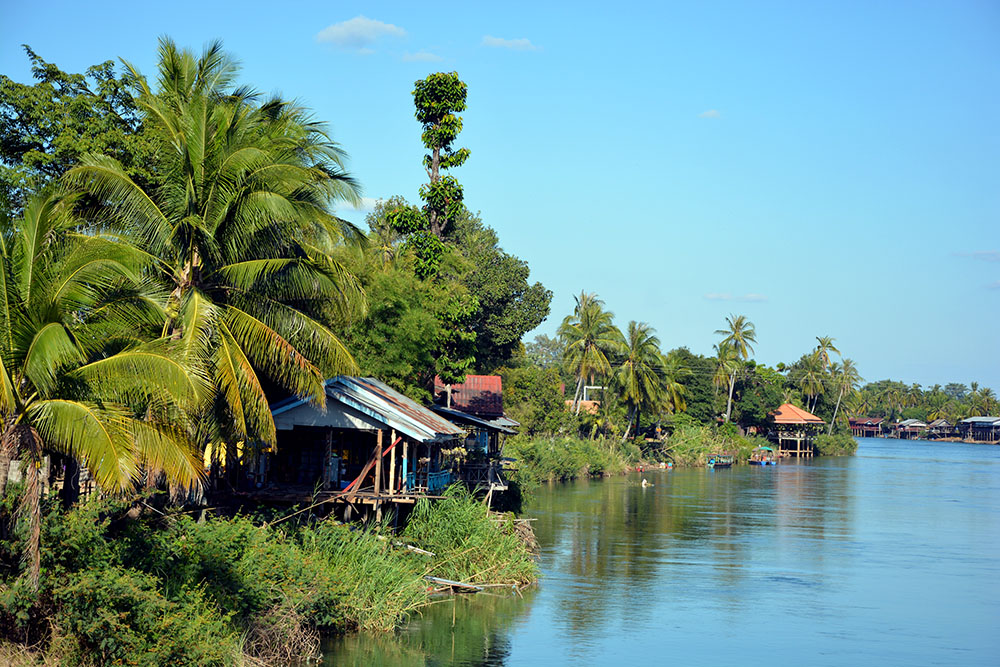 Die Insel im Mekong